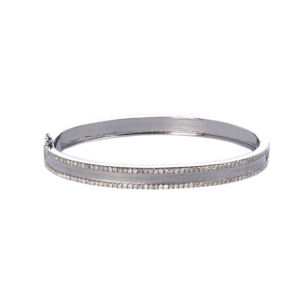 Diamond Frame Bangle