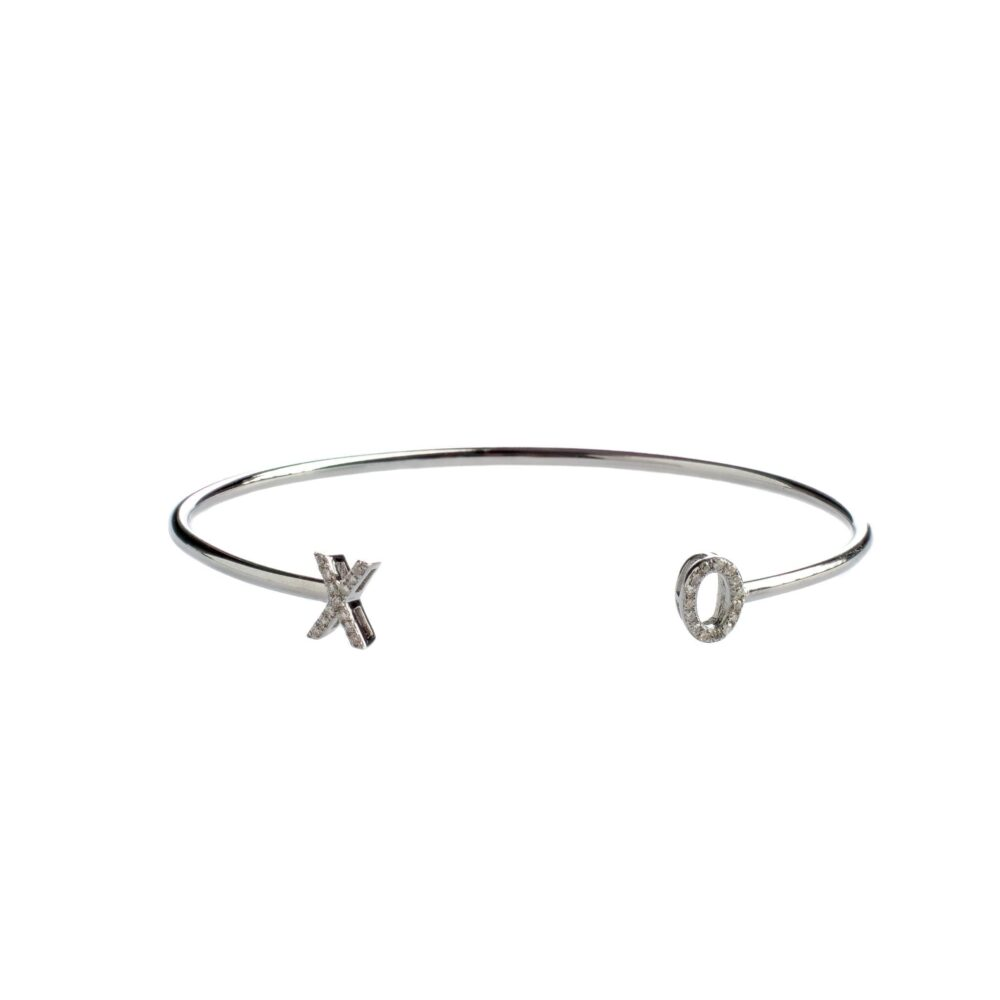 """XO"" Diamond Bracelet"