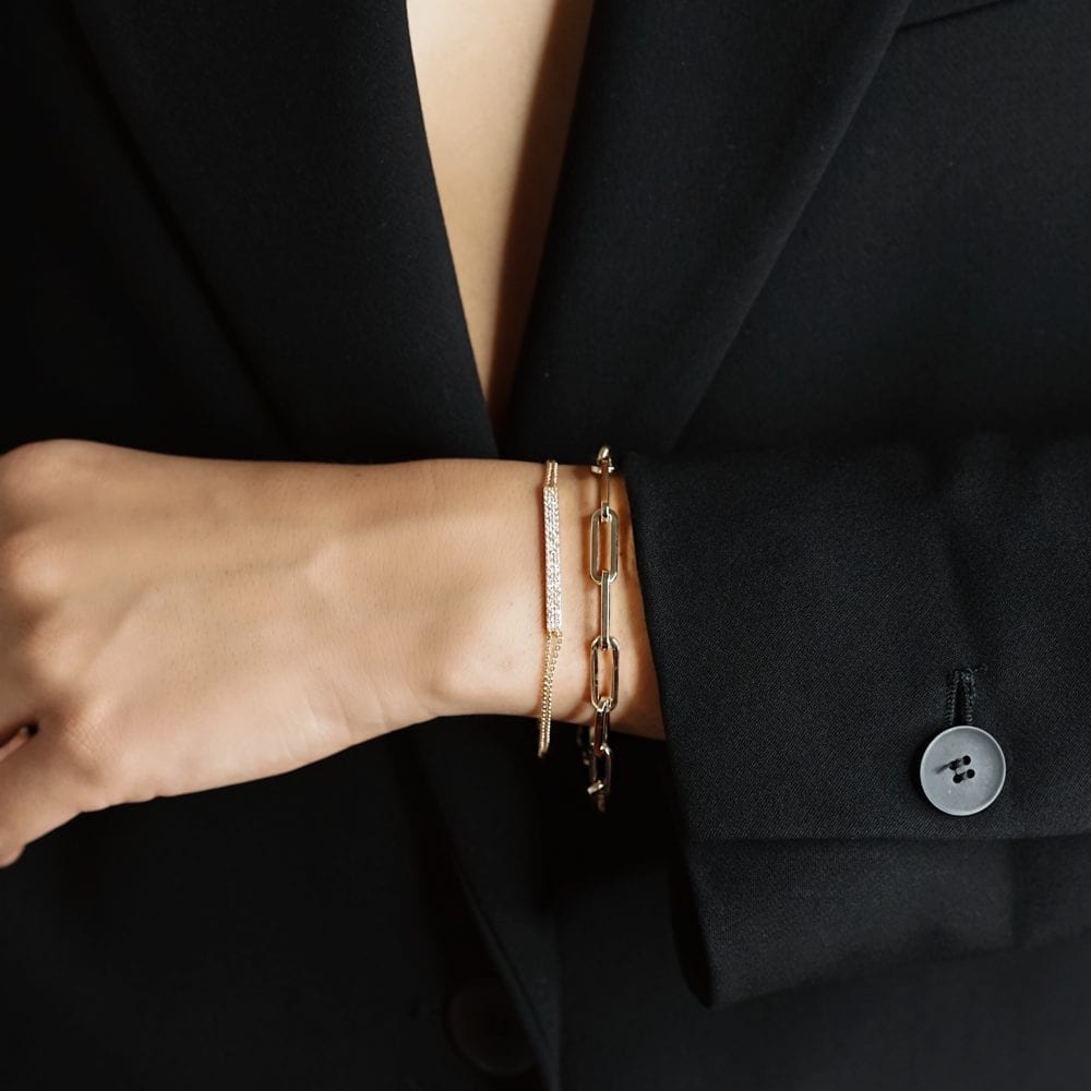 Large Link Chain Bracelet