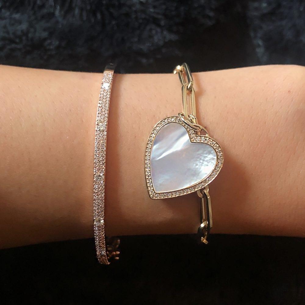 Medium Link Chain Bracelet