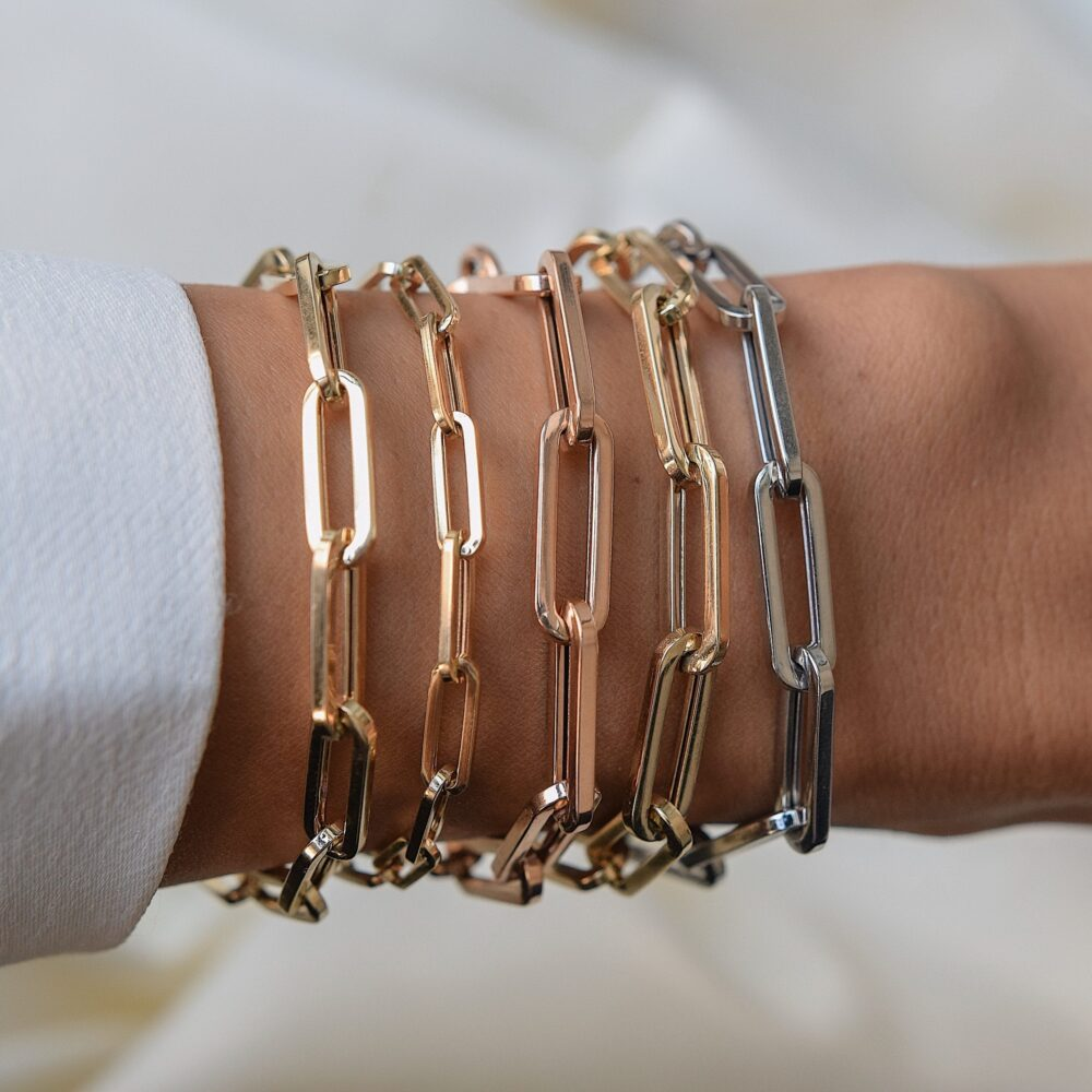 Large Chain Link Bracelet