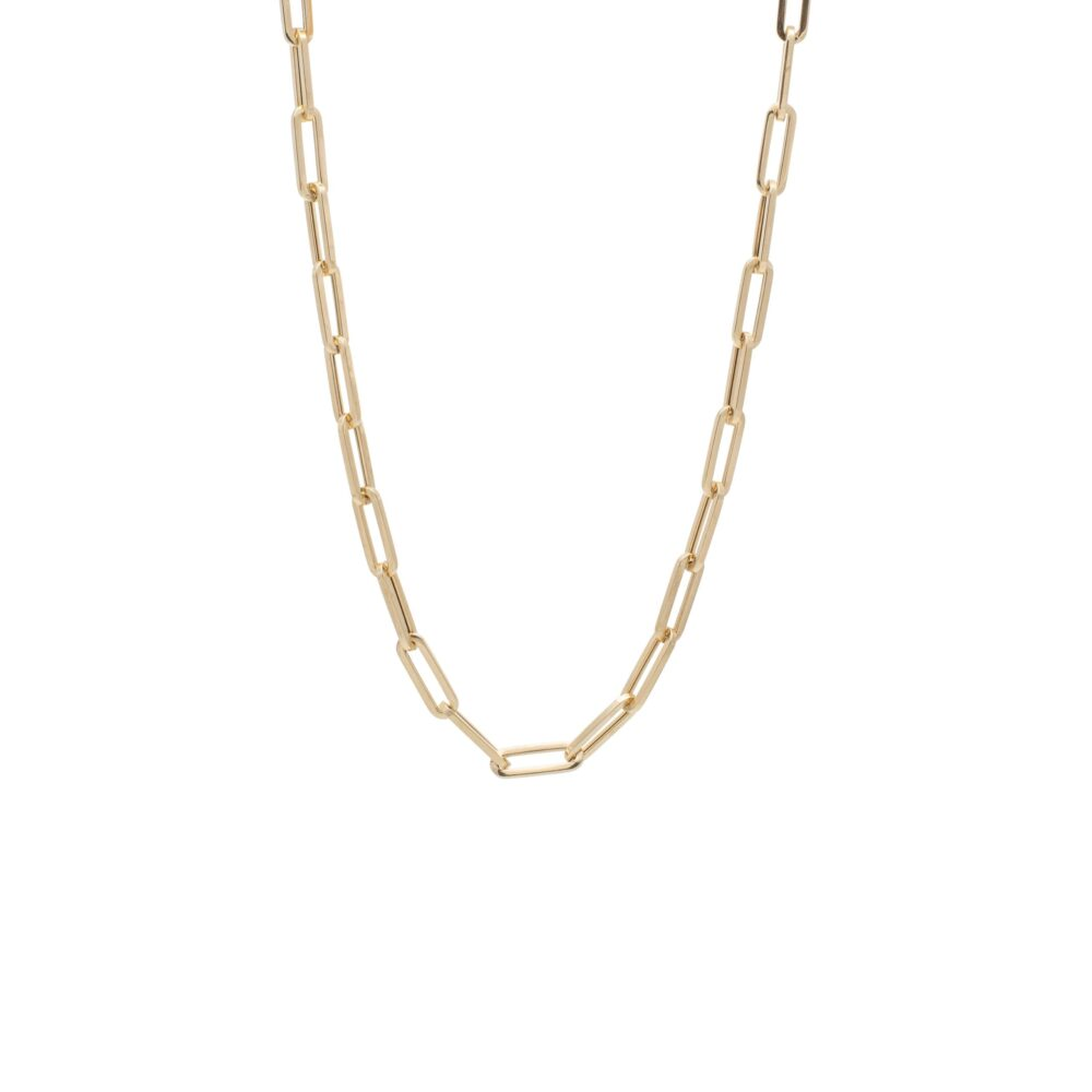 Link Chain Necklace Yellow Gold