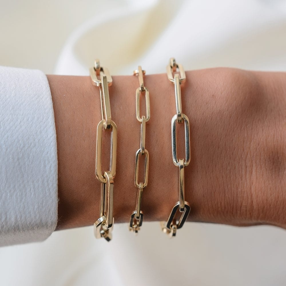 Small Chain Link Bracelet
