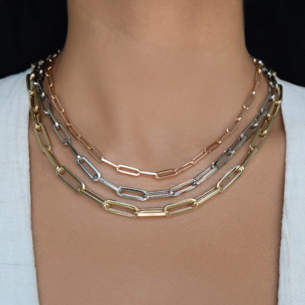 Medium Chain Link Necklace