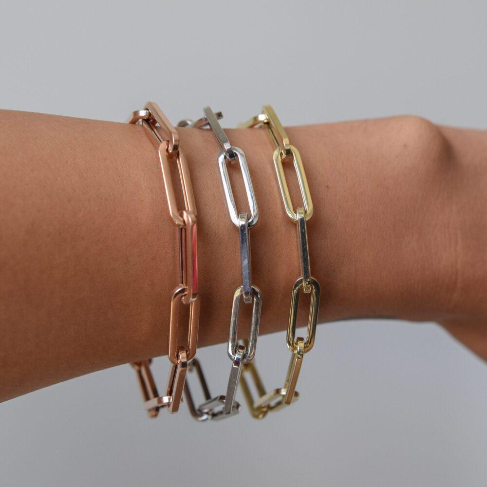 Medium Chain Link Bracelet