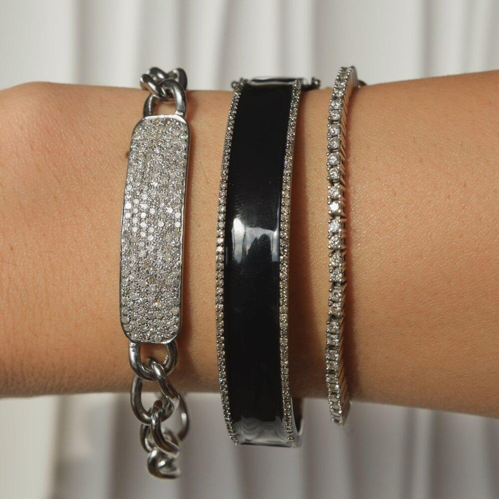 Diamond ID Bracelet