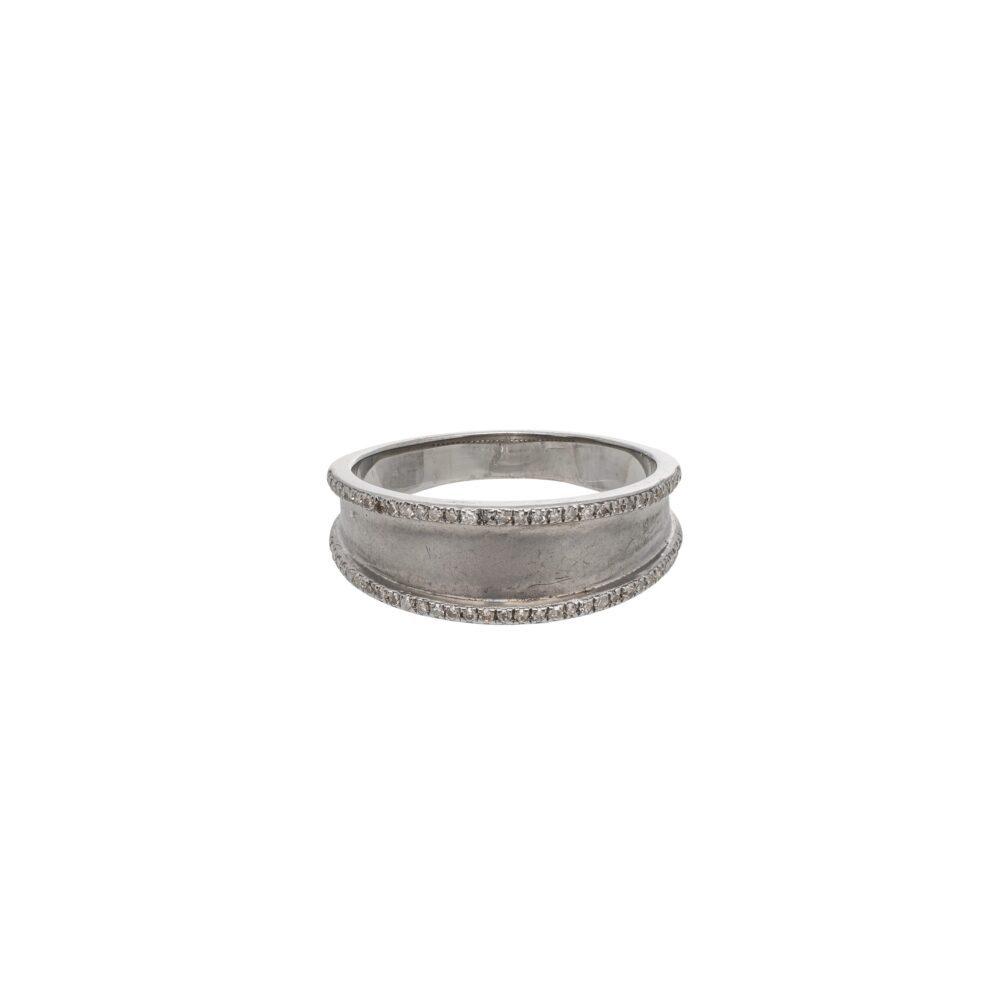 Diamond Frame Ring